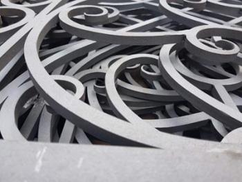 Піскоструйна обробка виробів з металу